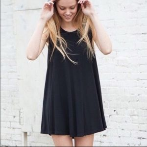 BRANDY MELVILLE 💋 Black Swing Tank Dress